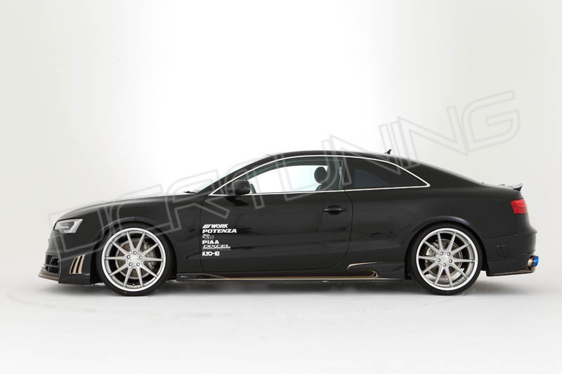 2010 up audi a5 body kit rowen style. Black Bedroom Furniture Sets. Home Design Ideas