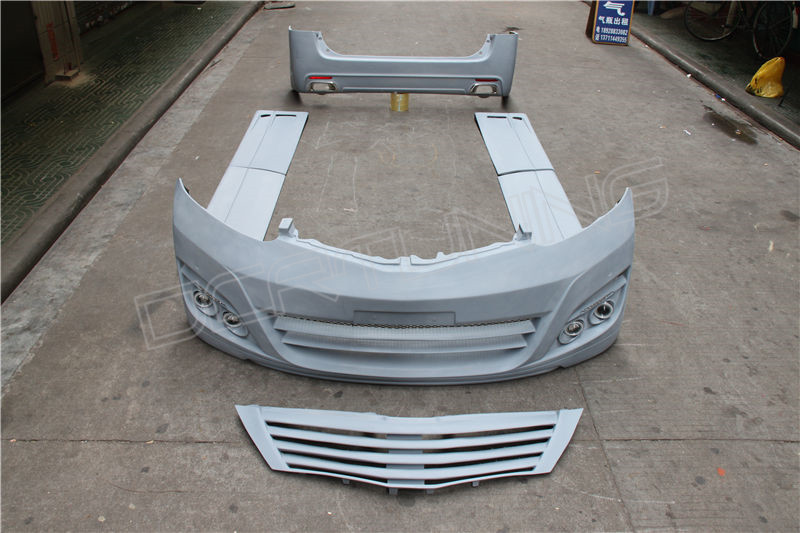 alphard toyota body kit parts bodykit shipping packed packing damage while wood before there