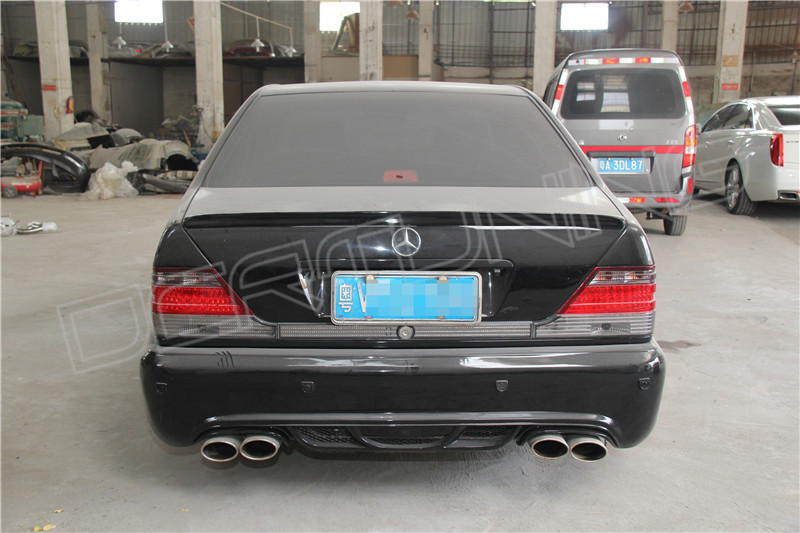 Mercedes benz w140 body kit wd style for Mercedes benz body styles