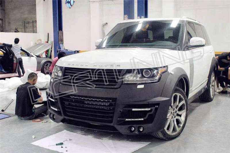 2014 On Land Rover Range Rover Sport Lm Body Kit
