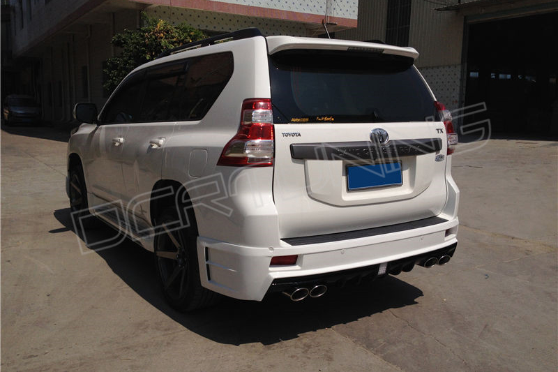 Village Toyota Parts >> Toyota Land Cruiser Prado Bodykit