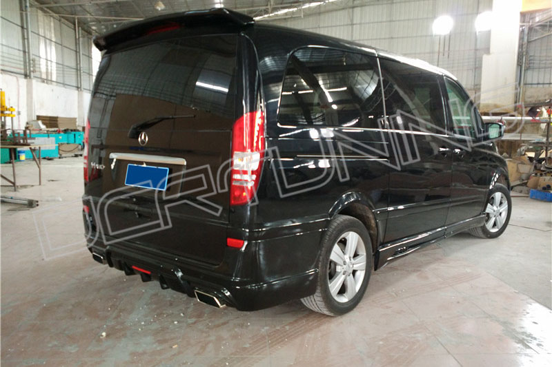 2011 On Mercedes Benz Viano Body Kit