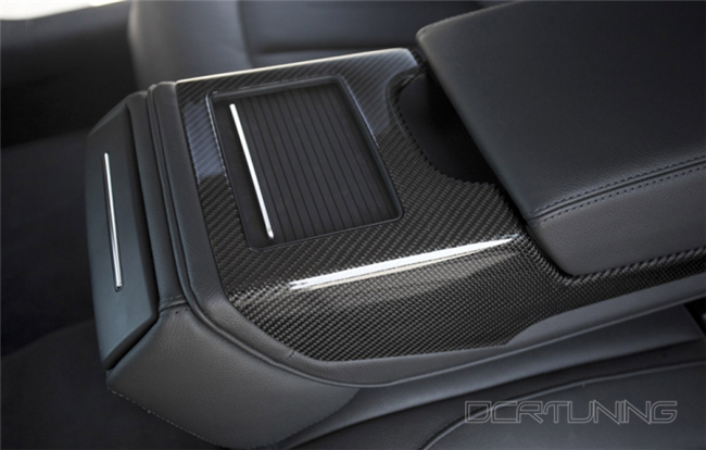 Audi A6 Carbon Interior Installed  (8)