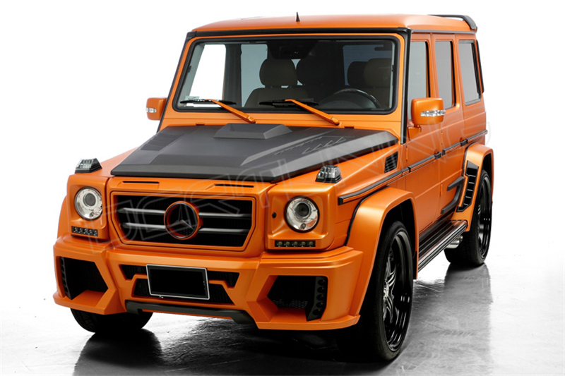 Mercedes benz g class w463 wald body kit dcr tuning for Mercedes benz exterior car care kit