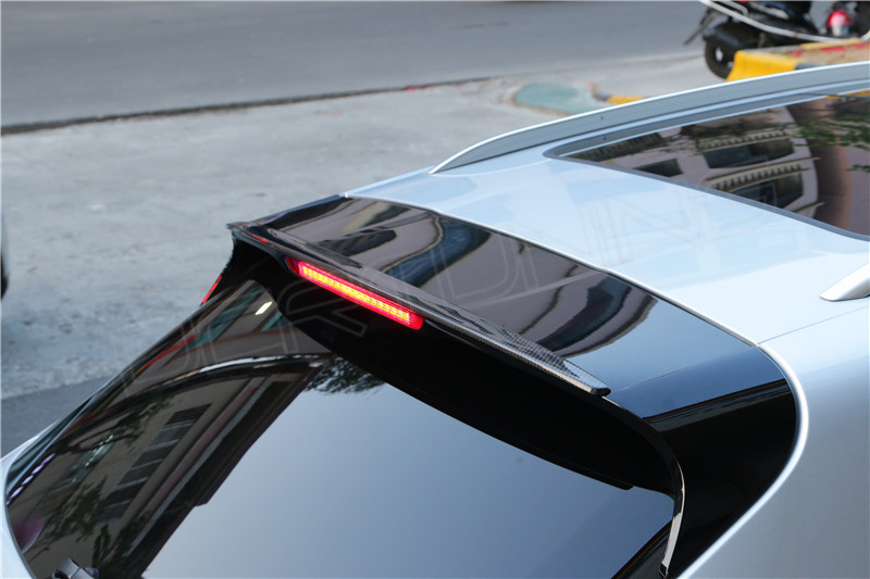 Porsche Macan Carbon Fiber Rear Roof Spoiler Small One