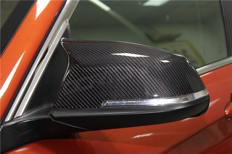 Bmw M3 M4 Look Carbon Fiber Mirror Cover