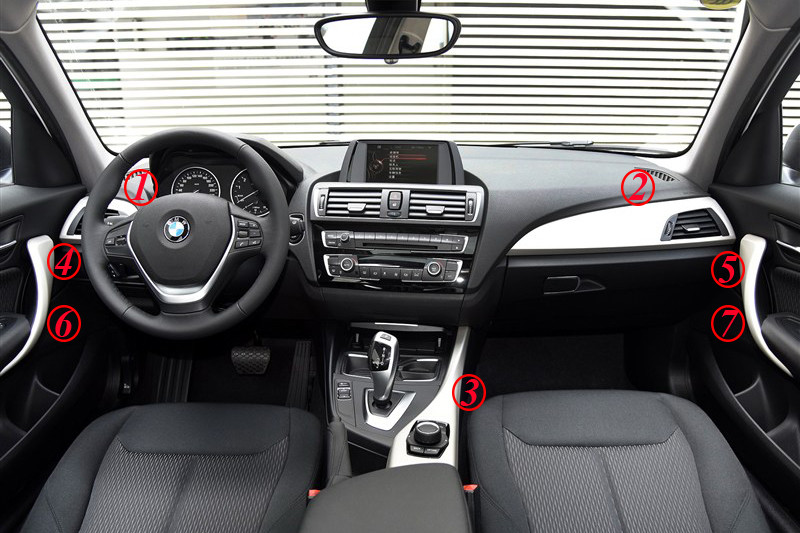 Bmw F20 F21 F22 F23 Carbon Fiber Interior Lhd Version Two