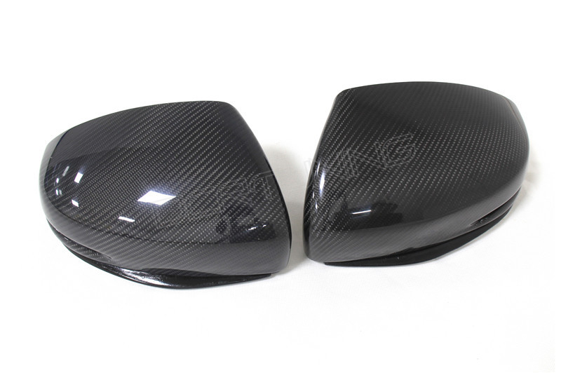 Honda Fit Carbon Fiber Mirror Cover With Led 2014 Up