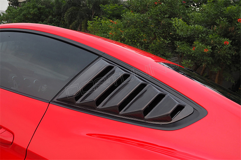 Ford Mustang Carbon Fiber Rear Window Louvers 2014 - UP