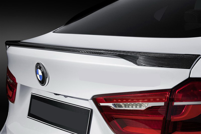 Bmw X6 F16 Carbon Rear Trunk Spoiler M Performance Style