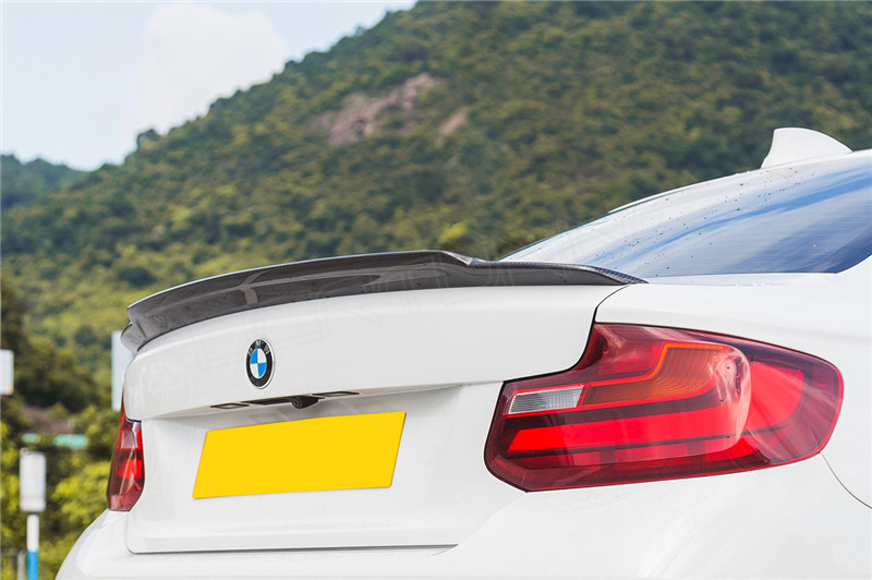 Bmw F22 F23 F87 M2 Rear Spoiler Carbon Fiber Exot Style
